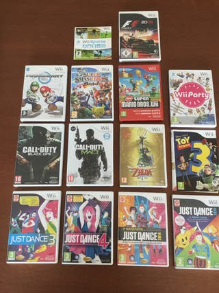DVD Videojuegos Wii