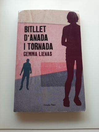 """Llibre """"Bitllet d'anada i tornada"""""""