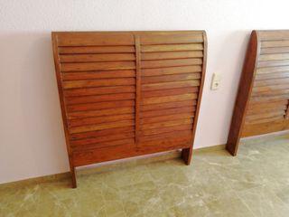 cabezal cama 105 madera