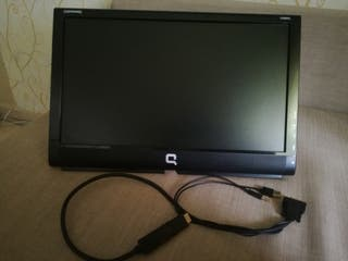 Pantalla pc con cable adaptador HDMI
