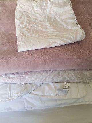 conjunto para cama de 90.