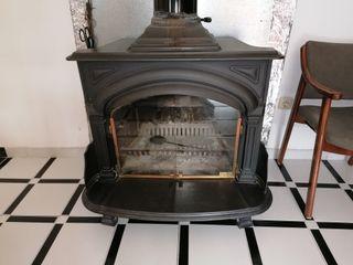 chimenea hierro fundido