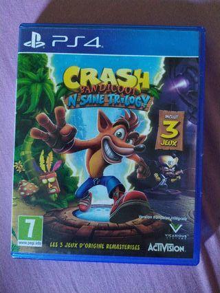 crash bandicoot trilogía