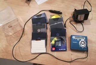 Minidisc Sony MZ-R700 Walkman