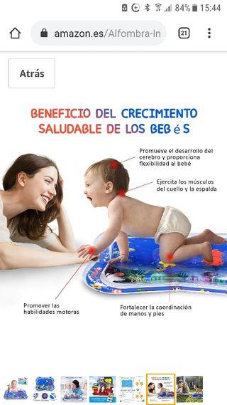 Alfombra Inflable del Agua para Bebé