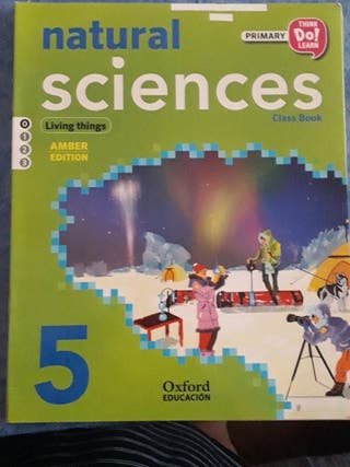 libro 5° natural sciencies OXFORD