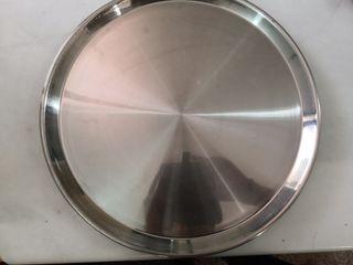 4 40 cm trays, 4 bandejas de 40 cm