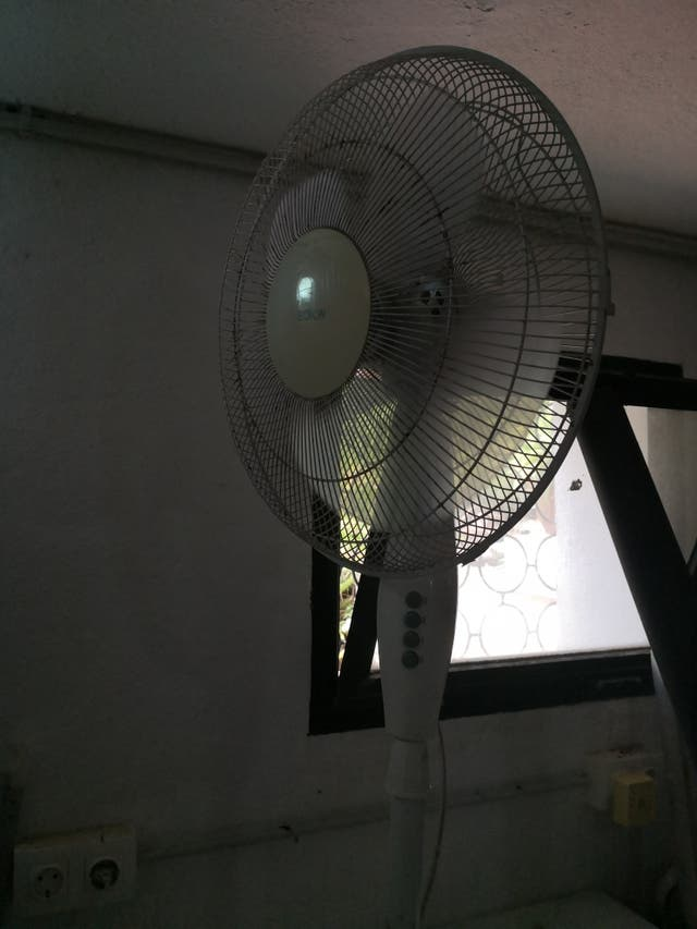 fan works very well