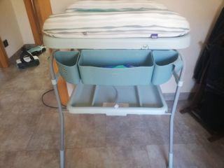 Bañera-cambiador bebé, marca chicco