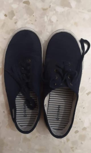 zapatillas Victoria azul 38