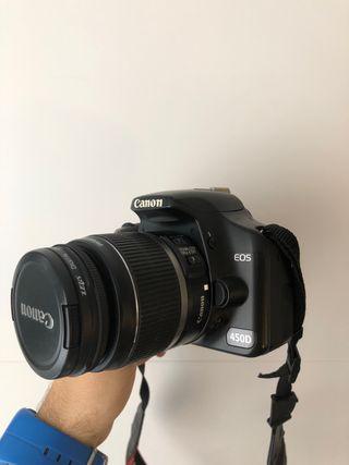 Cámara canon 450D