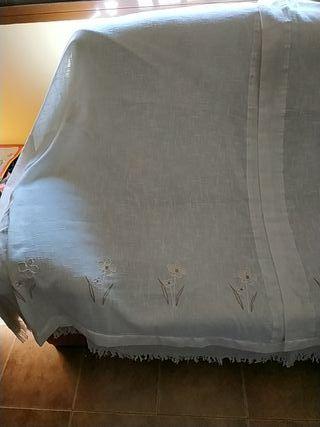 Juego de cortinas + estores en buen estado