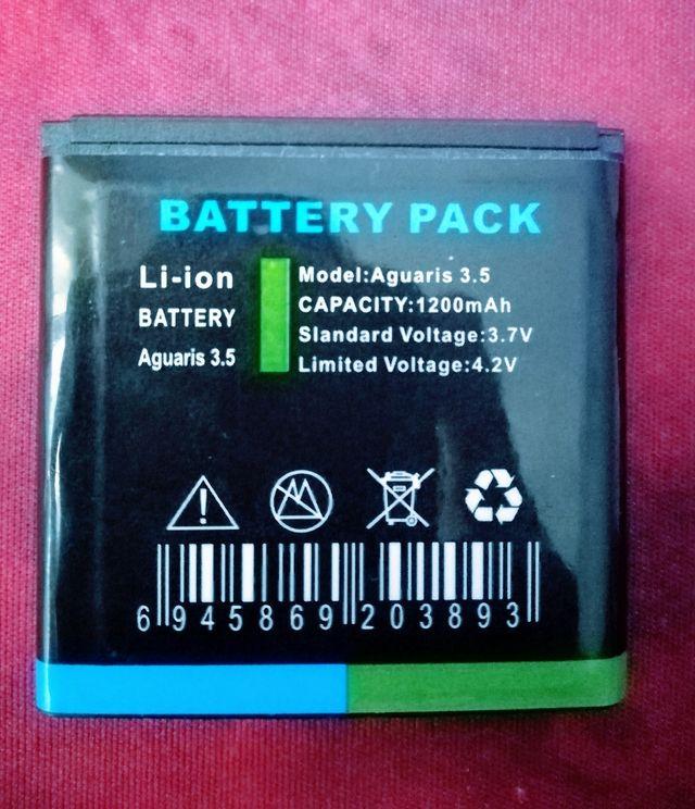Batería Móvil Aquaris 3.5 / 1200mAh