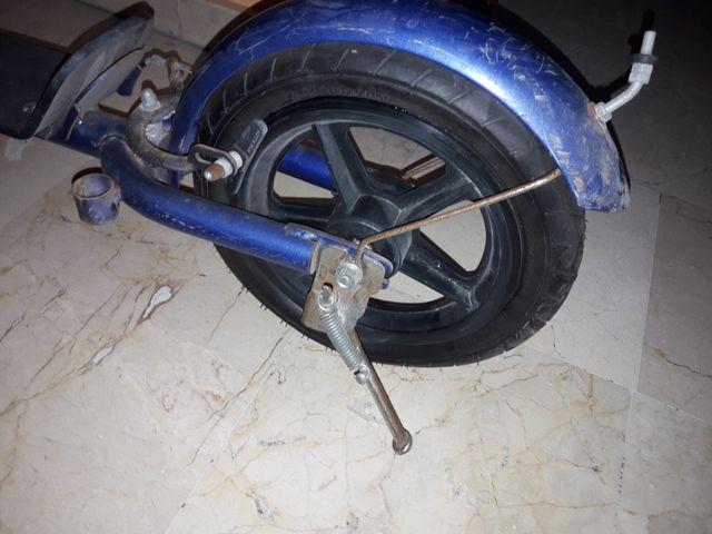 Patinete ruedas de aire