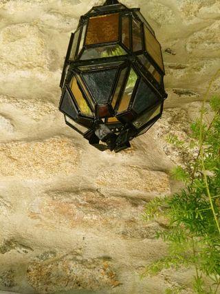 farol granadino antiguo forja
