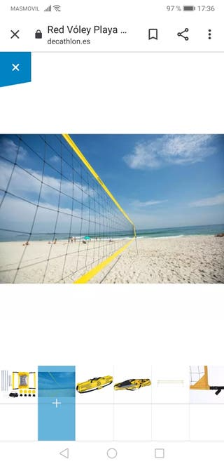 campo voley playa decathlon