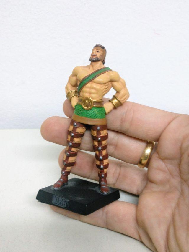 Hércules. Figura de plomo de Marvel