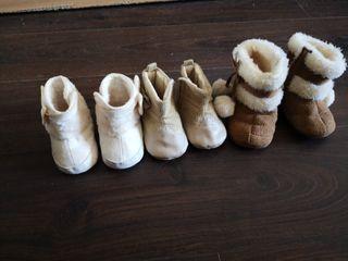 botas niña bebe