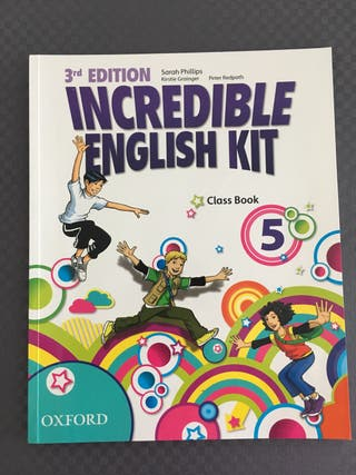 Incredible 5 english kit 3er edition