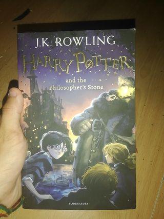 libro Harry Potter en inglés
