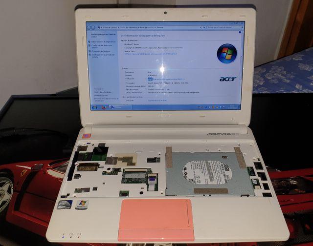 Despiece Portátil Acer One Happy Rosa