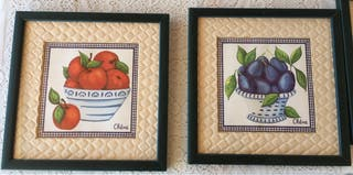 Cuadros frutas