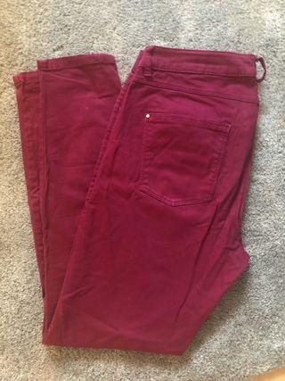 Pantalón fucsia talla 42