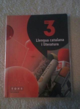 Libros catalan y castellano 3ESO
