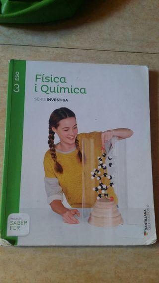 Llibre Física i Química. 3r ESO