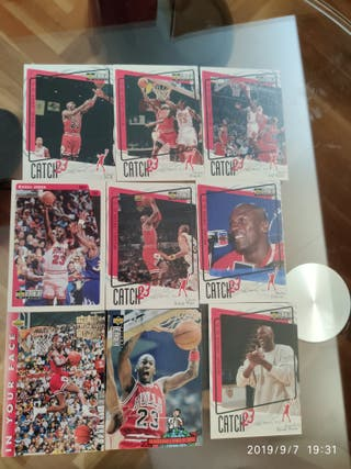 M. Jordan upper deck cromos NBA temporada 92-93
