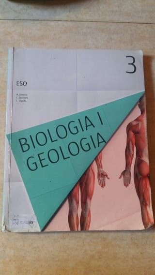 Llibre Biologia i Geologia. 3r ESO