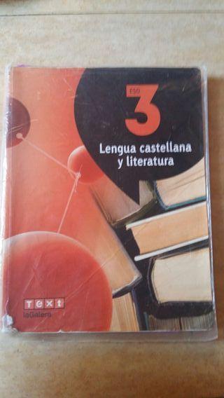 Libro de Lengua Castellana y Literatura. 3° ESO.