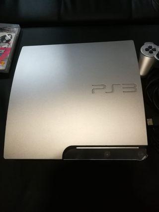 PS3 SLIM de 320GB + 6 Juegos