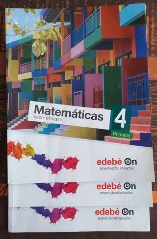 Libros de matemáticas