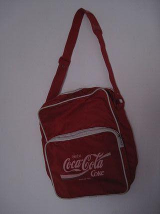 bolso coca cola antiguo bandolera vintage Coke