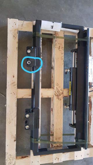 Desplazador ISO/FEM2 para Carretillas Elevadoras