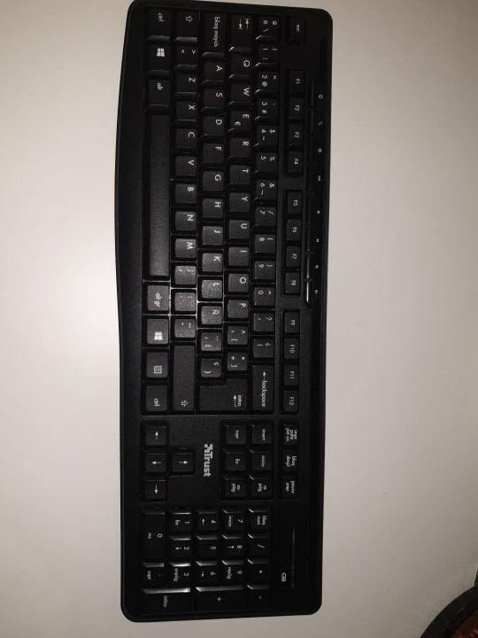 teclado y ratón Trust inalámbrico
