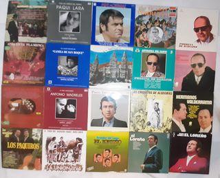 LOTE 20 LP'S FLAMENCO
