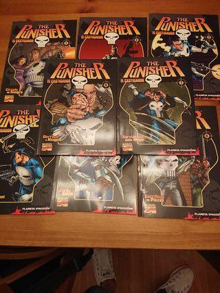 The Punisher coleccionable Planeta 1 al 8