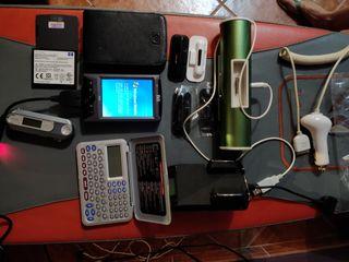 PDA HP, Pendrive, Calculadora/agenda, Altavoz.....