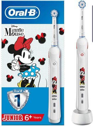 Oral-B Junior - Cepillo Eléctrico de Minnie