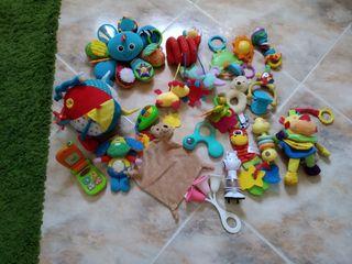 lote de 20 juguetes bebé primera edad