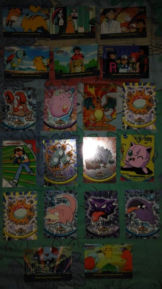 cromos Pokémon años 90
