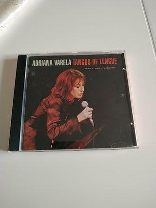 Cd Adriana Varela MÚSICA ARGENTINA TANGOS