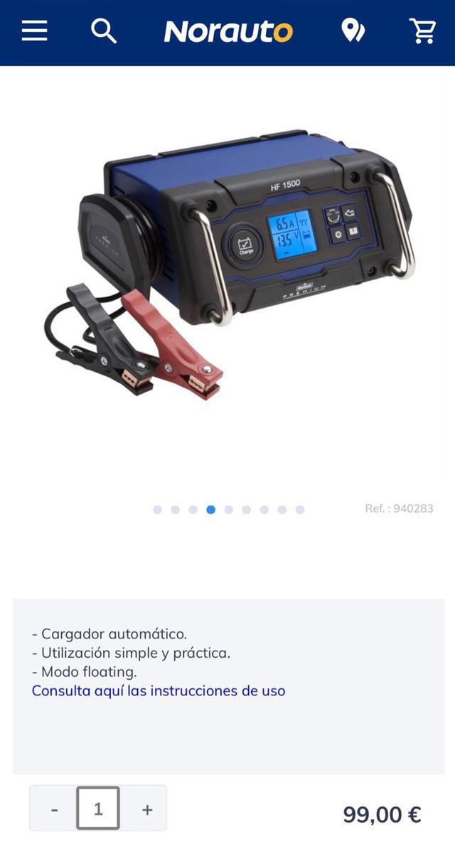 Cargador Batería NORAUTO Premium - NUEVO