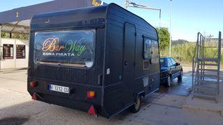 Caravana Food Truck en alquiler
