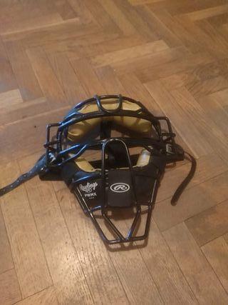 casco receptor béisbol