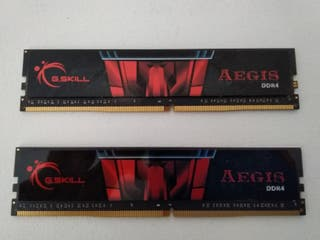 Memoria RAM DDR4 2400 8GB (2x4GB)