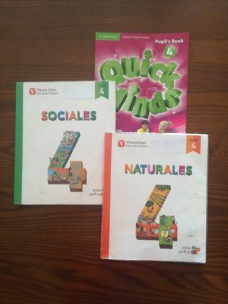 Libros 4° primaria.