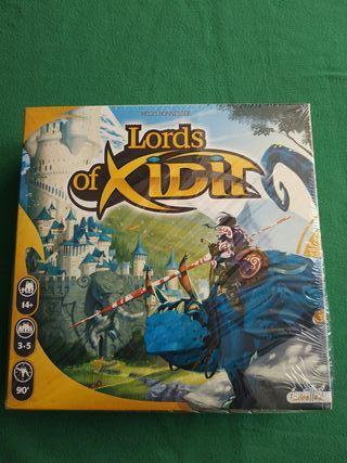 Lords of Xidit Juego de Mesa